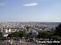 Parisul privit de la biserica Sacre Coeur 1