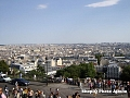 Parisul privit de la biserica Sacre Coeur 2