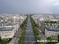 Champs Elysees privit din turnul Effel 1