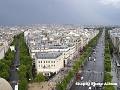 Champs Elysees privit din turnul Effel 2
